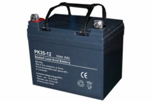 12V 35Ah AGM Deep Cycle batteri