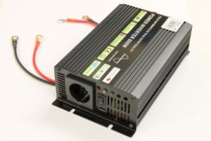 600W 12V->230V Inverter - ren sinus