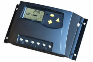 Laderegulator V2 12-24V/30A m/display