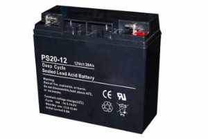 12V 20Ah AGM deep cycle batteri
