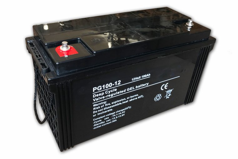 12V 100Ah Pure GEL Batteri