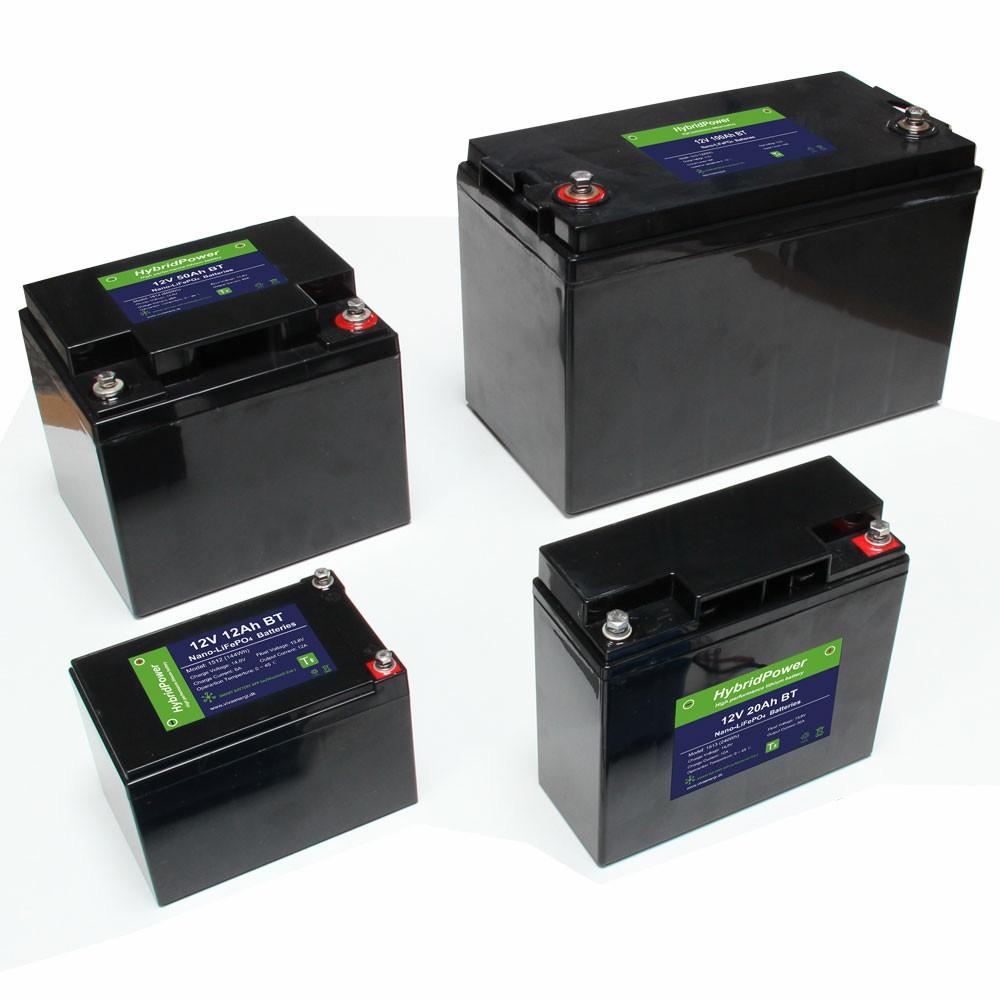 Splitter nya Lithium LiFePO4 batterier CX-28